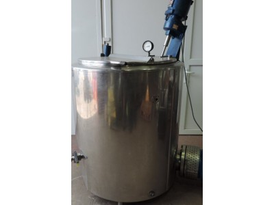 Giusti 600L thermo coupled jacketed cooking kettle