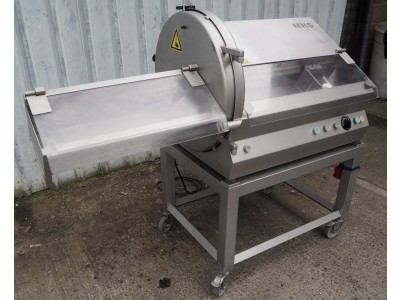 MHS PCE 65T Tabletop Slicer with trolley