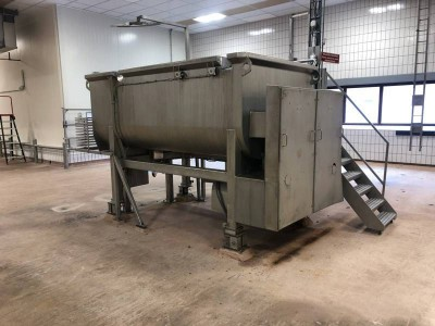 Karl Schnell 5000L Twin Shaft Paddle Mixer