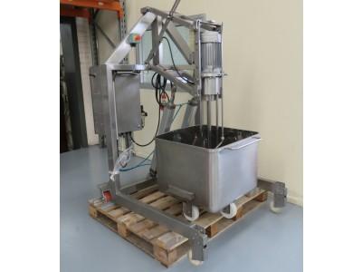 High shear mixer with frame