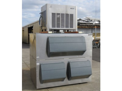 Scotsman MFE61 Modular Flaked Ice Machine, with Follett Ice Storage Bin