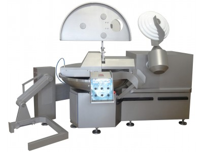 Used PACIFIC 200L Bowl Cutter With Unloader
