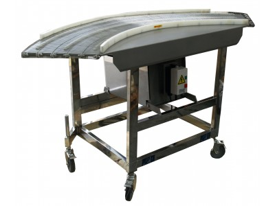 PACIFIC 400mm 90 Degree Wire Mesh Conveyor