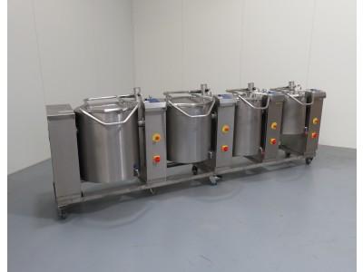 Joni Foodline Cooking Vessels x4