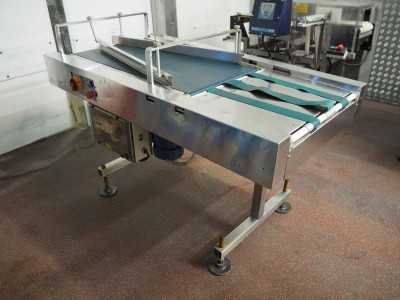 Stainless Steel Converging Conveyor (3x 56 mm)