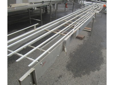 Used transfer conveyor [C04] -  460 mm x 5970 mm