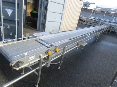 Used conveyor [C23] -  275/200mm x 8700mm