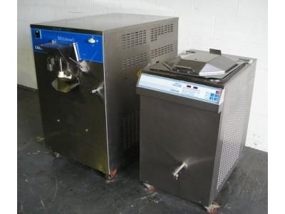 Carpgigani Complete Mini Ice Cream Plant With Pastomaster Tronic 120L