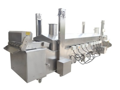 PACIFIC 600mm x 4.5m Continuous Fryer - Electric