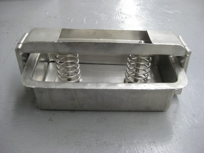 Used Stainless Steel Ham Mould / Press (275 x 105 x 115mm)