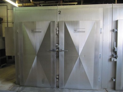SCHROTER 4 Cage Smoke House and Cooking Chamber