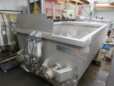 Wolfking 2750L Twin Shaft Mixer, TSM 2750