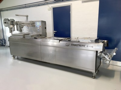 Used Multivac R105 Thermoformer
