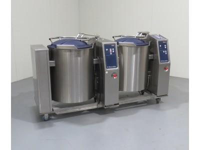 Electrolux SMART 100L twin cooking vessels