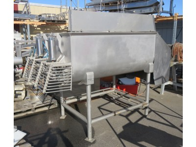 MACKIES MMB-120 1200L Twin Shaft Ribbon Mixer