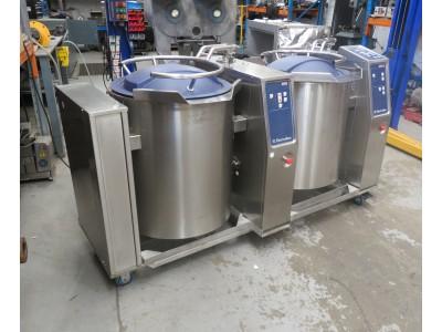 Electrolux SMART 100L twin cooking vessels