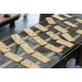 Bizerba Trial Slicing Almond Bread at 3mm