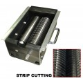 Strip cutting head