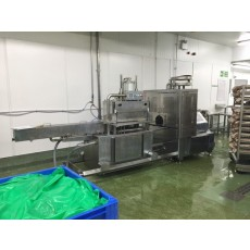 Inox Meccanica forming, packing & double clipping system type PIC 99 B E