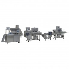 PACIFIC Crumbed Chicken Nugget (400mm) Production Line