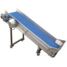 Incline Blue Belt Conveyor