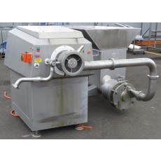 Wolfking contiflow meat pump and PG225 grinder with gristle removal