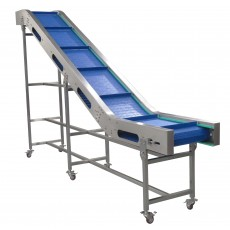 Custom Built Incline 400mm Cleated Conveyor