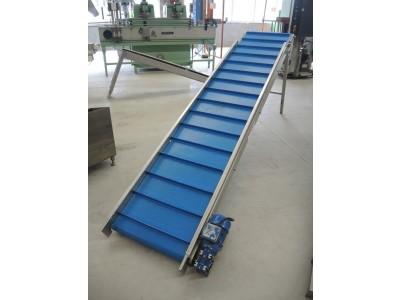 Brebeck Elevating Conveyor Belt