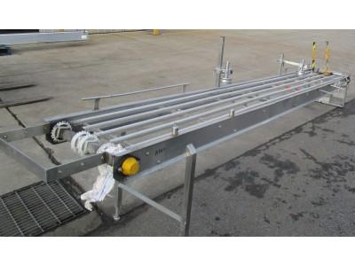 Used conveyor [C02] -  575 mm x 3800 mm