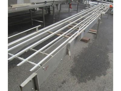 Used transfer conveyor [C04] -  460 mm x 5970 mm