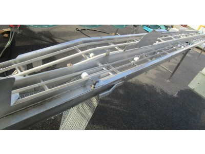 Used packing conveyor [C05] -  200/280 mm x 8000 mm