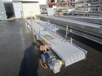 Used conveyor [C17] -  400 mm x 5210 mm