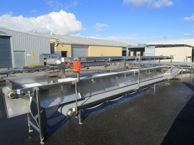 Used conveyor [C25] -  3 Level Conveyor - 355 mm x 6100/7500/8300 mm