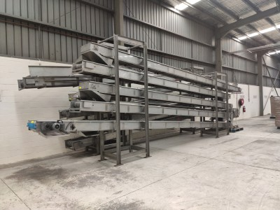 Contech 5 Pass Cooling Conveyors