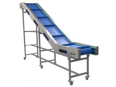 Custom Built Incline 400mm Cleated Conveyor