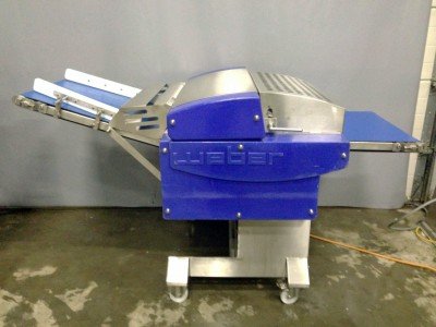 Weber SA770 Pork Rind Skinning Machine