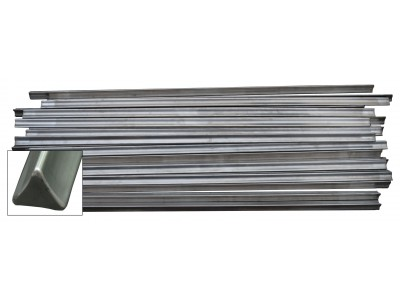 PACIFIC Stainless steel smoke stick