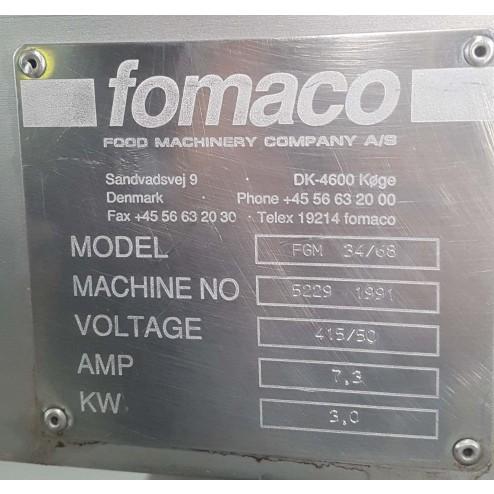 Fomaco FGM 34-68 Brine Injector 1991