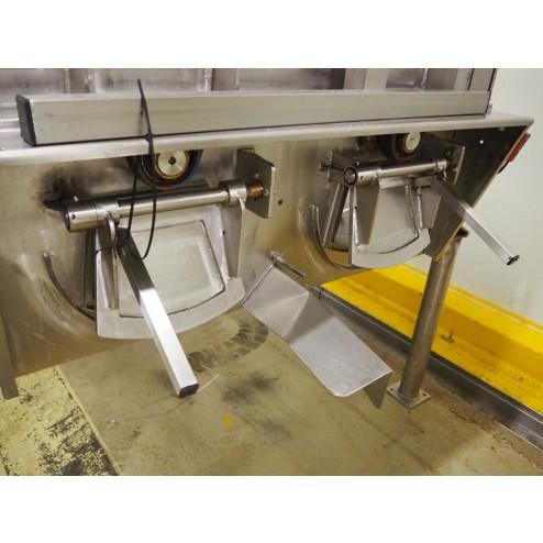 WOLFF 1000L Double Shaft Ribbon Paddle Mixer