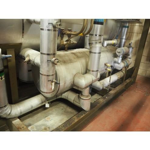Armultra Ammonia Installation for Spiral Freezer