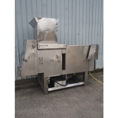 Holac Dicer with Infeed Hopper
