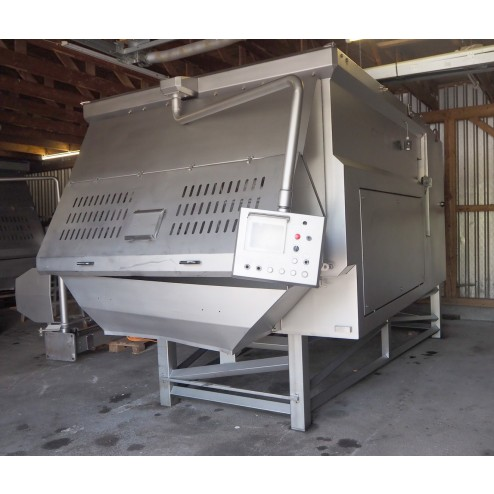 Carnitech 5600L Double Shaft Paddle Mixer with Lid