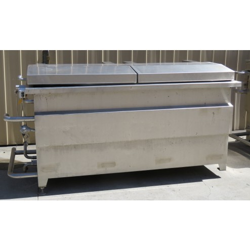 1500L Stainless Steel Cooking & Chilling Tanks