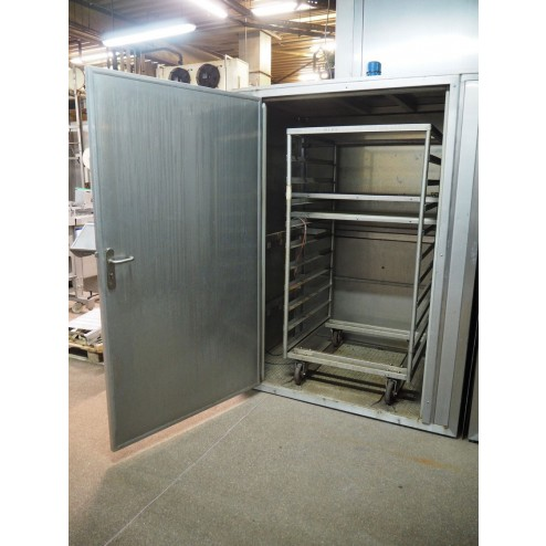 2x Stainless Steel Drying Cabinets