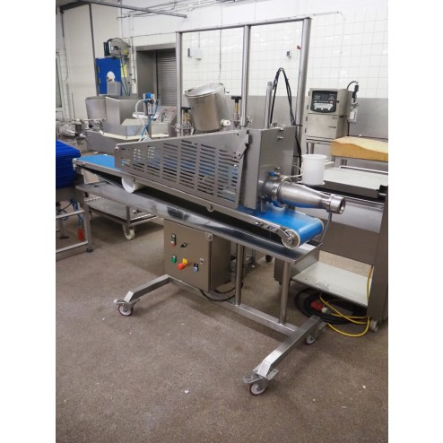Dutch Poultry Technology - Burger Portioner and Flattening Machine