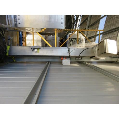 Carsoe Single Column Lift - HKV 200 Bin Lifter