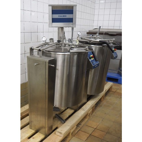 Hackman Metos double tiltable cooking kettle with agitator - Culimix-50/Culino-80