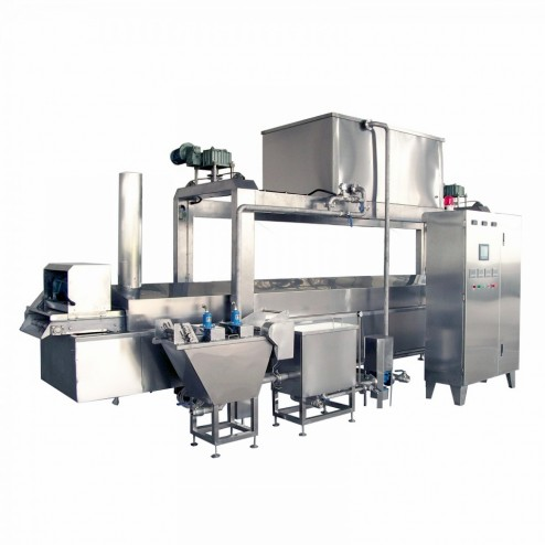PACIFIC 400mm 5.5M Continuous Fryer