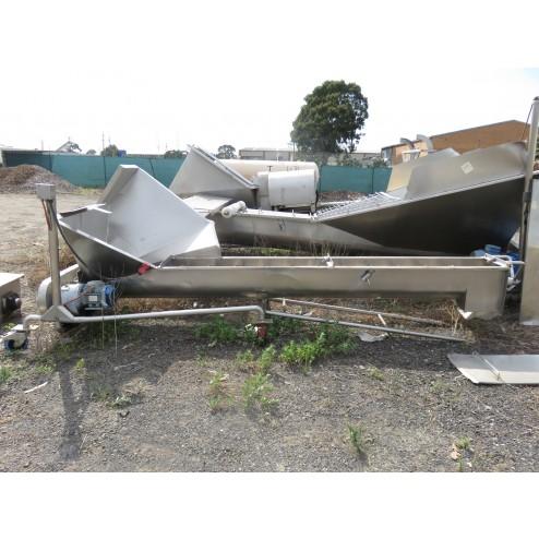 Used Screw Conveyors (Bulk Lot)