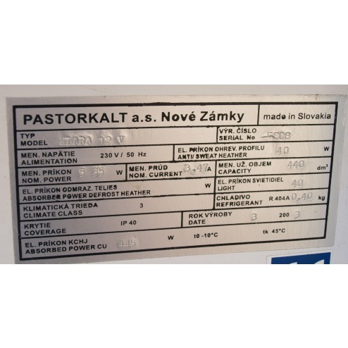 Pastorkalt Klara 12V refrigerated display unit